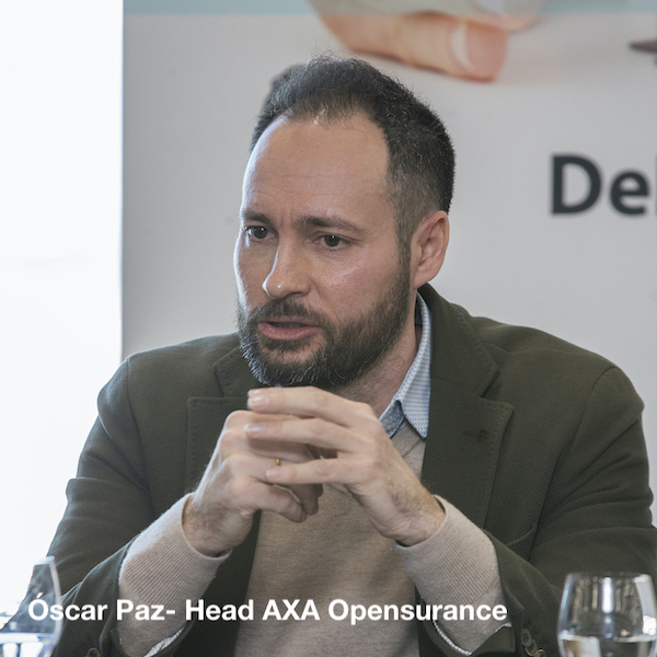 Óscar Paz - Head of AXA Opensurance - BBSC